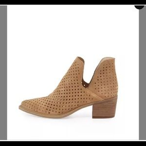 Camel Danese Perforated Booties